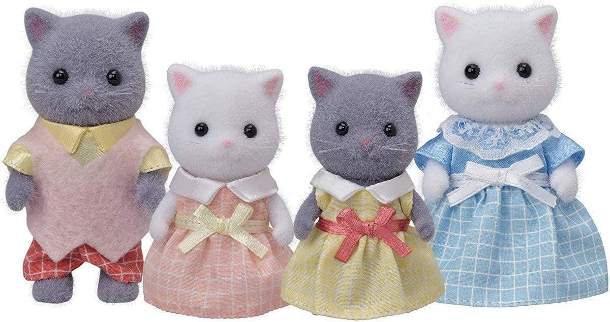 Sylvanian Families - Persian Cat Family