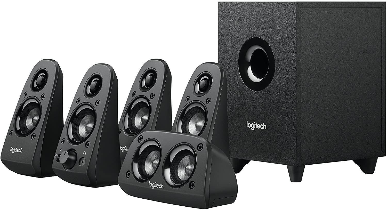Image de Logitech Z506 Surround Sound Home Theater Speaker System