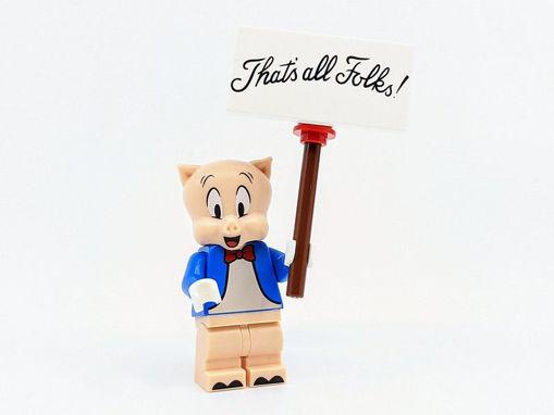 Lego minifigures - Porky Pig